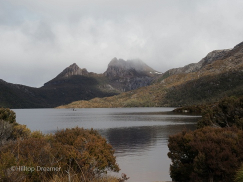 Cradle Mountain over looking Dove Lake
